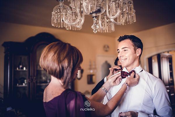 getting ready groom nucleika