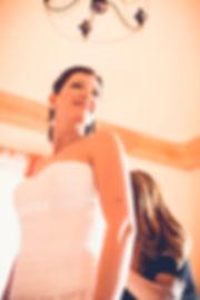 La sposa è veramente pronta ad uscire