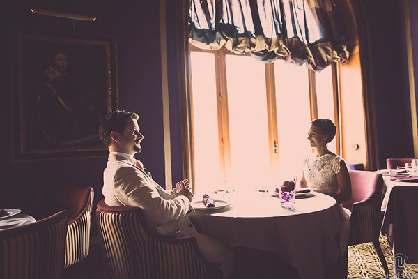 un romantico pranzo nel ristorante dell'hotel San Domenico di Taormina Sicilia