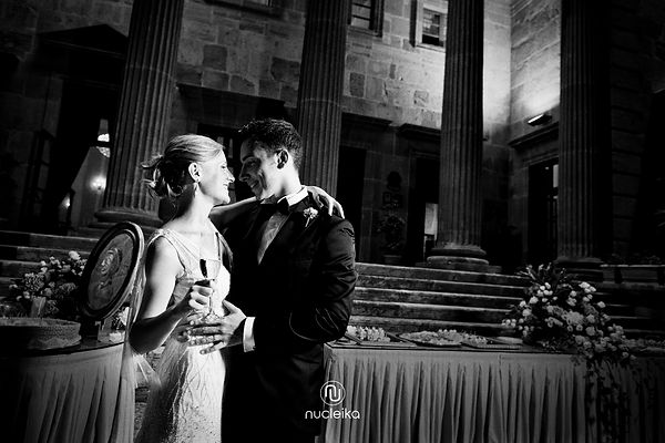 bride and groom in palermo nucleika