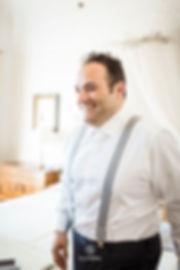 nucleika groom wedding getting ready