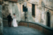antique town wedding in sicily italy