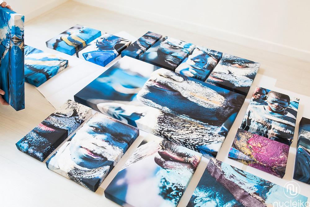 nucleika canvas quadri arredamento studi