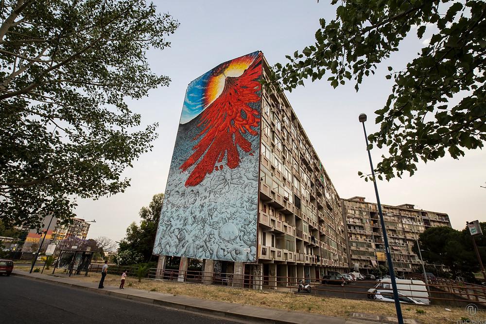 nucleika street art blu catania