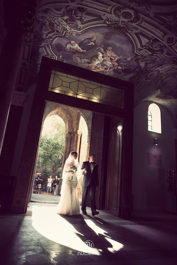 chiesa marturana arrivo sposi nucleika