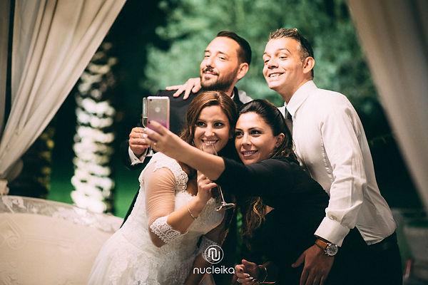 nucleika wedding friends