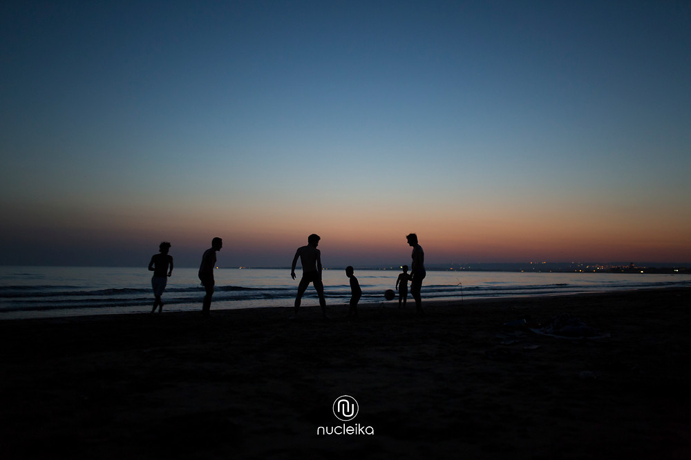 nucleika foto sicilia mare tramonto