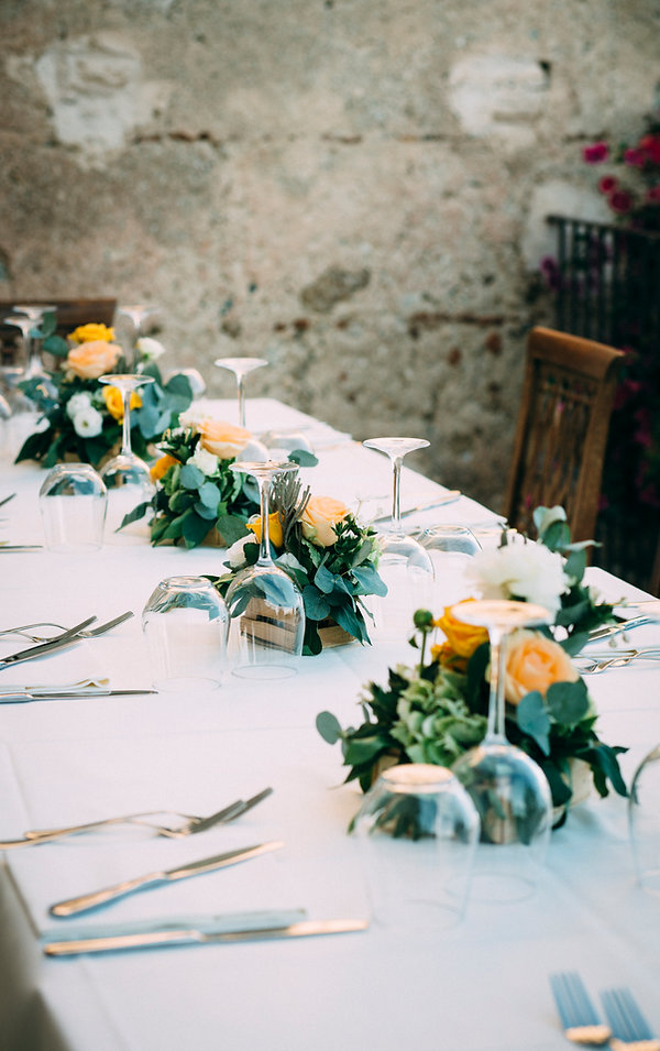 wedding details in sicily italy