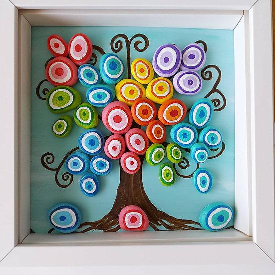 Renkli Nazar Ağacı