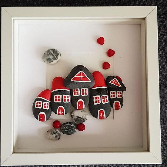 Kırmızı Damlı Evler