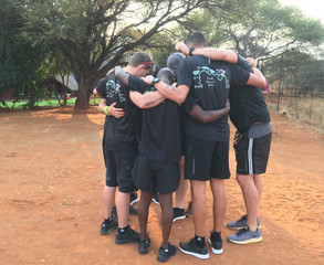 Team prayer