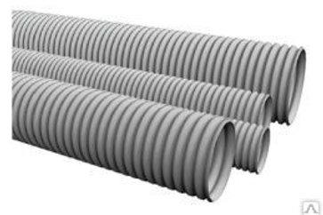 Труба ПВХ д20мм  гофр. легкая с протяжкой