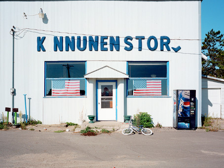 The Old Kinnunen Store Wolf Lake 2011