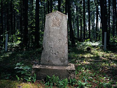 Finnish Cemetery Sugar Island 2010