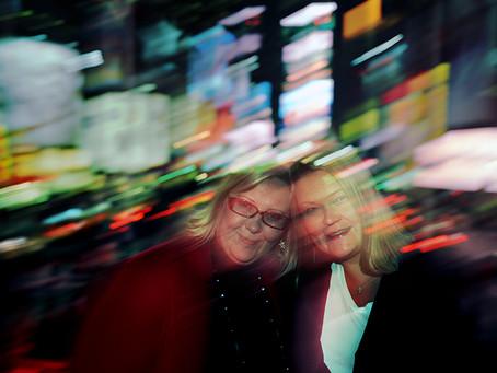Harriet & Nina Kulmala Manhattan 2008