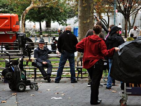 Matt Damon The Adjustment Bureau Manhattan 2009