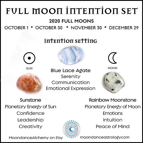 Full Moon Intention Set