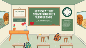 How Creativity Stems From One's Surroundings