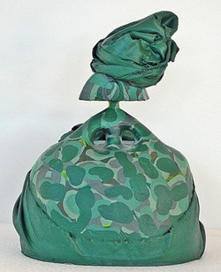 Gema Garcia, Barbara Verde 30 x 25 x 15c