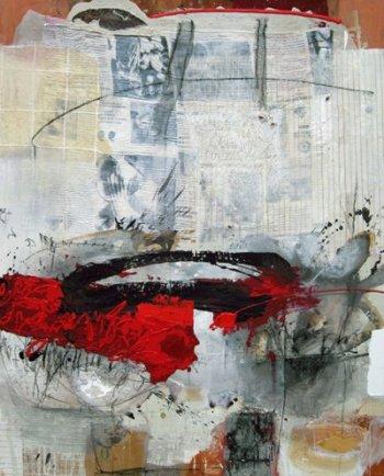 Red News, 150 x 120cm, 2009