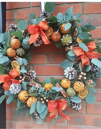 Large Scented door wreath