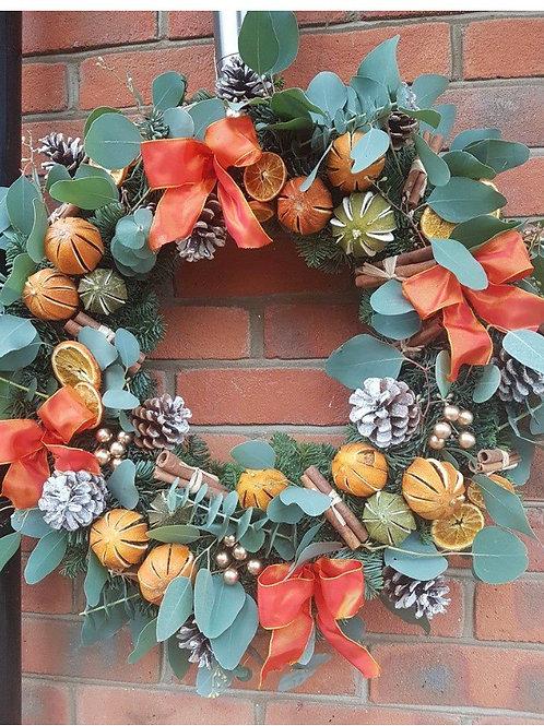 Large Scented door wreath