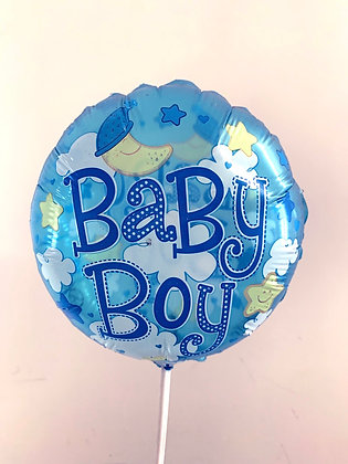Baby boy mini balloon