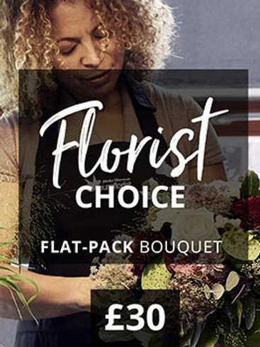 Florist choice Flat Bouquet