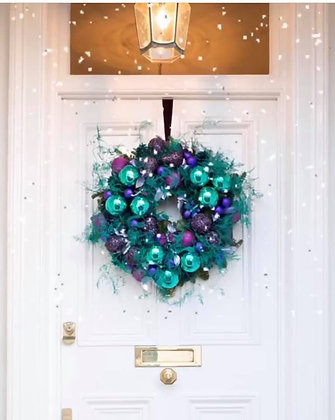 Blue Spice wreath