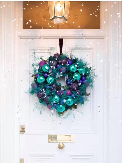 Blue Spice wreath