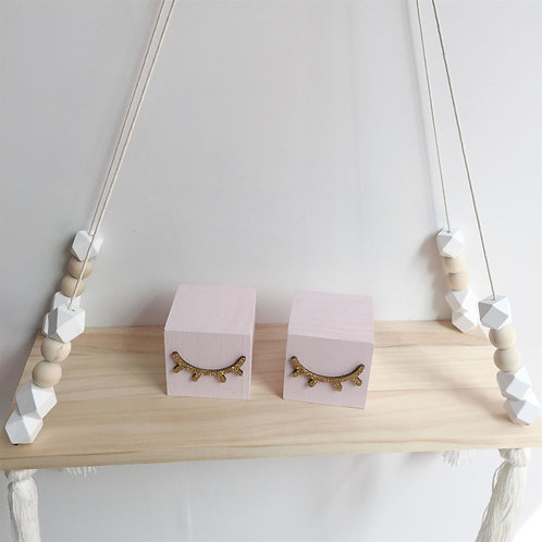 White Shelf Rack ( Wall Hanging)
