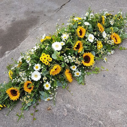 5ft country mews coffin spray - 2009
