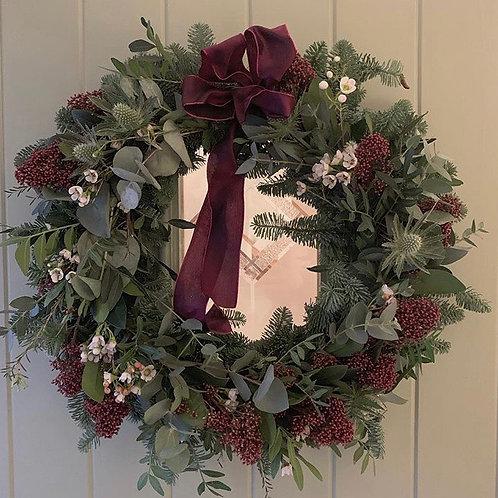 Simplicity door wreath