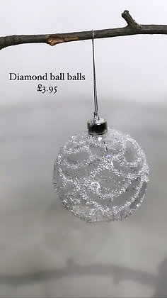 Crystal Christmas bauble