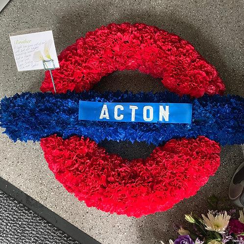 Bespoke Acton Train Station Tribute