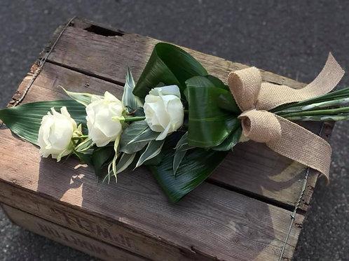 3 Rose Tied Sheaf