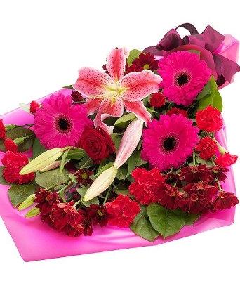 Hot blush Bouquet