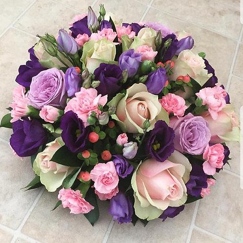 Pink & purple posy pad