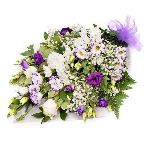 Tied sheaf -  Purple & white 5611