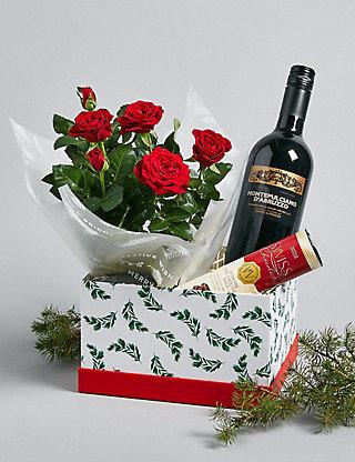 Red christmas box
