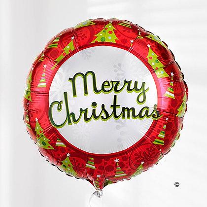christmas helium balloon