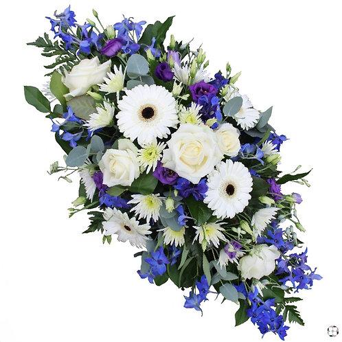 Blue , White & purple oasis - 5005