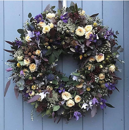 Country style Door wreath