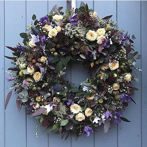 Country style Door wreath