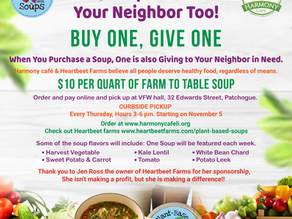Yes, Soup for you, Neighbor Too!