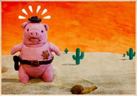 Sheriff Piggy