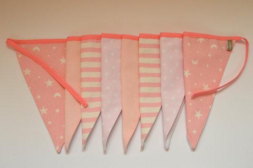 Guirnalda tonos rosas