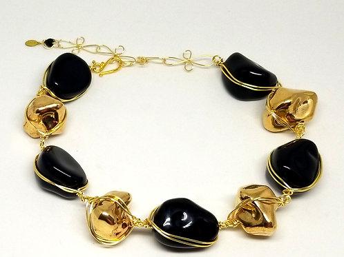 Gold Rock/Shiny Black Walnut gw