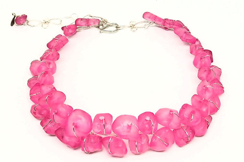 Hot Pink Nugget Collar