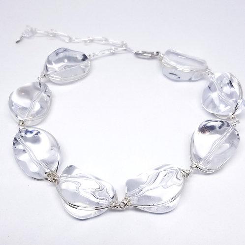 Clear Walnut Necklace sw